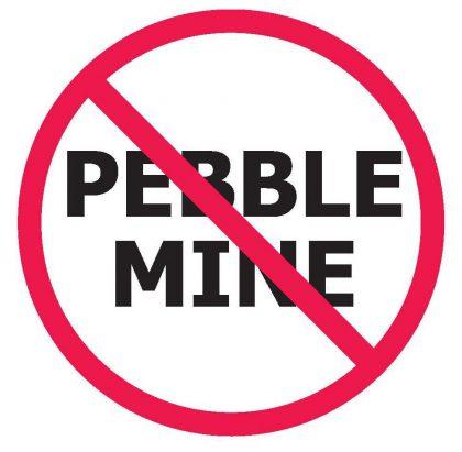 No pebble mine graphic