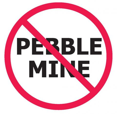 No pebble mine graphic