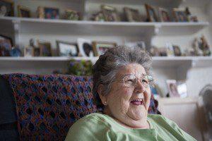Violet Willson, from Naknek, celebrates Bristol Bay case won by Trustees for Alaska