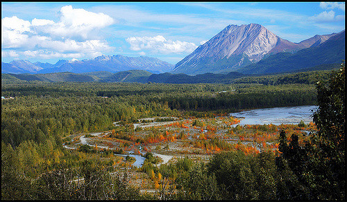 Matanuska Valley view new Pinnacle Mountain. Photo: Cecil Sanders / Flickr Creative Commons